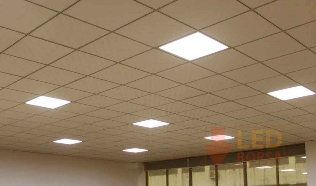 60x60 led panel uygulama 3